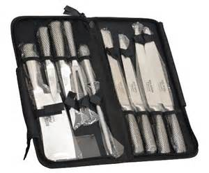 brand new ross henery professional eclipse premium 9 piece chefs knife set in heavy duty zip up