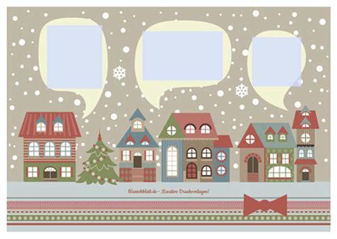 Bilder Und Drucke by Drucke Selbst Kostenlose Weihnachtskarte Zum Ausdrucken