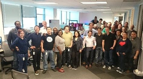 our ps vue team in la sony playstation office photo