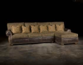 Leather And Cloth Sectional Leather Fabric Sofa Colorado Style Home Furnishings
