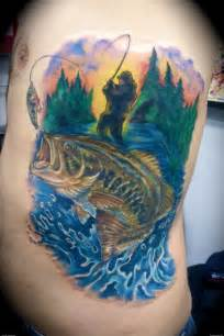 fishing tattoo ideas fishing tattoos bass fish artists org tattoos
