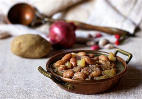 cucinare i fagioli freschi zuppa di fagioli freschi e patate la cucina di claudio