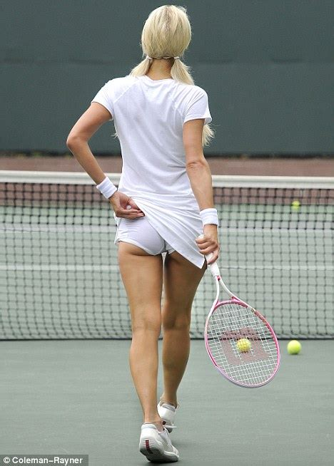 athena picture of the tennis player by flashing her white underwear