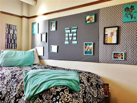 wall decor for dorms black white and mint room room decor