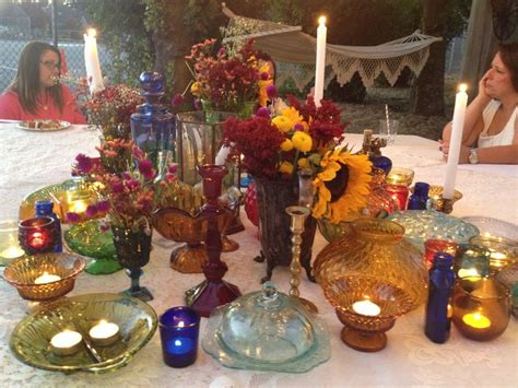 bridal shower dinner table 72 best images about bohemian backyard bridal shower on
