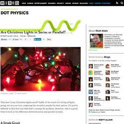 parallel christmas lights electricity magnetism pearltrees