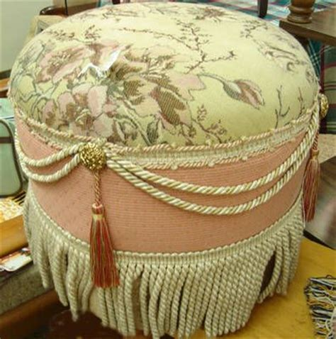 shabby chic ottoman pin by helene harvey on pouf pinterest shabby chic