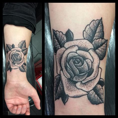 rose tattoo shading dot shade rosedevils own tattoos and piercing studios