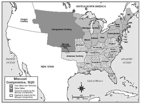 missouri compromise map a conflicting compromise today s history lesson