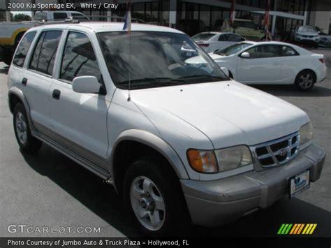 kia sportage 2000 interior white 2000 kia sportage ex gray interior gtcarlot