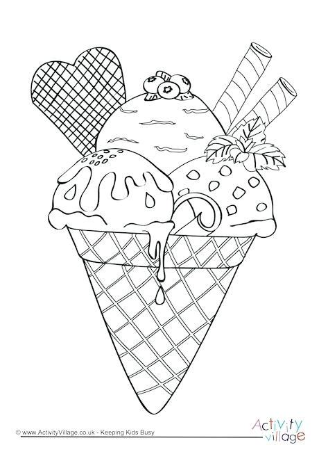 ice cream coloring pages games ice cream colouring templates and i like ice cream