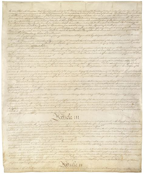article iii section 1 of the constitution the us constitution 3rd amendment article 3
