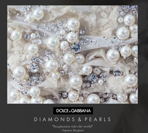 diamonds and pearls dolce gabbana s diamonds and pearls m i s s