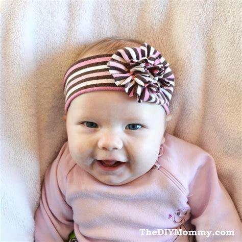 baby headbands sew an upcycled baby headband the diy