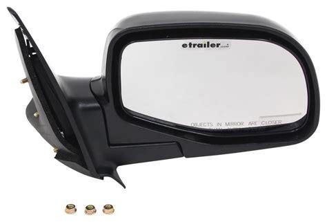 ford ranger cipa replacement side mirror manual black passenger side