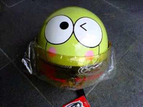 Topi Keropi grosir helm keroppi tip x keroppi jual penghapus keroppi