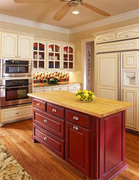 Eggshell Kitchen Cabinets Eggshell Cabinets Kitchen Traditional With Butcherblock Contemporary Ovens