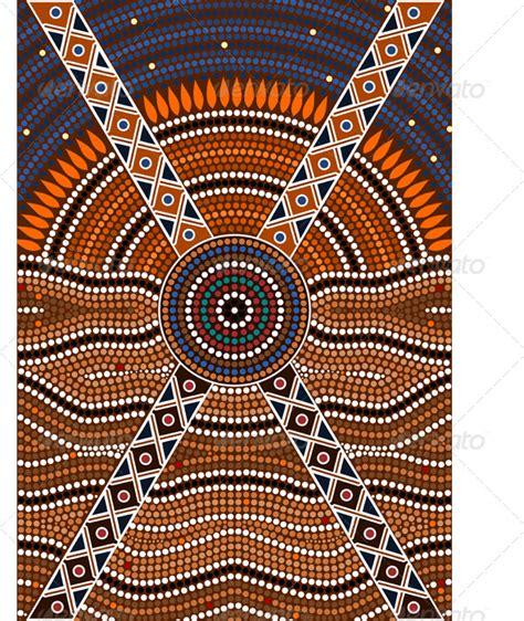 dot pattern aboriginal aboriginal dot art templates graphicriver aboriginal dot