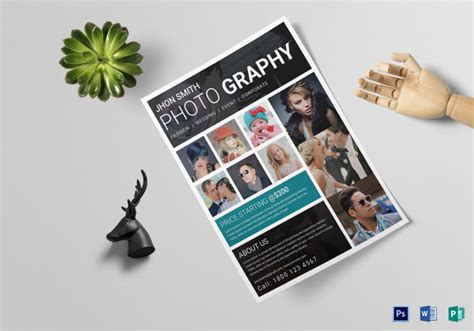 34 Photography Flyers Psd Vector Eps Jpg Download Freecreatives Photography Flyer Template Word