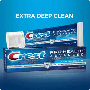 color tabs on toothpaste crest pro health advanced whitening power