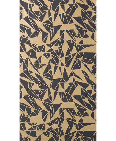 gold wallpaper panels monroe wallpaper 1 panel balck gold by ferm living