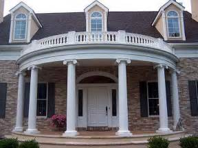 Portico Design by Planning Amp Ideas Great Round Portico Designs Picking The