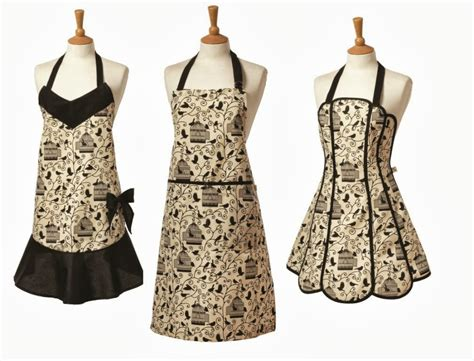 Apron Designs And Kitchen Apron Styles by Bird Cage Bow Vintage Style Apron Review A Glug Of Oil