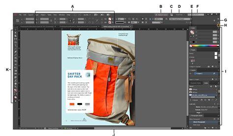 design html email adobe workspace basics in indesign