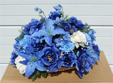 light blue flower arrangements floral design arrangements blue imgkid com the