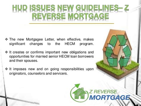 Mortgagee Letter Non Borrowing Spouse hud issues new guidelines z mortgage
