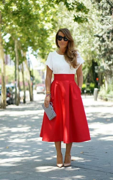midi skirts 16 ideal beautiful look 2015 fashion