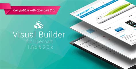 opencart template builder visual builder for opencart theme for u