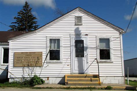Antioch Post Office by Antioch Baptist Church Hamlin Iowa Iowa Backroads