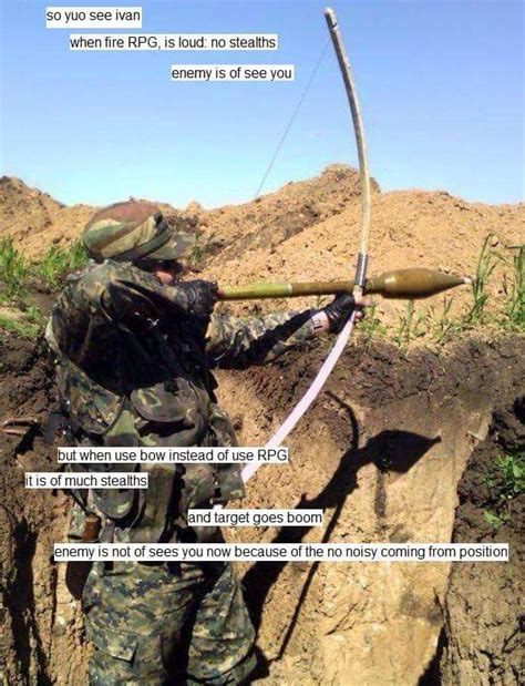 Ivan Meme - rocket propelled arrow you see ivan know your meme