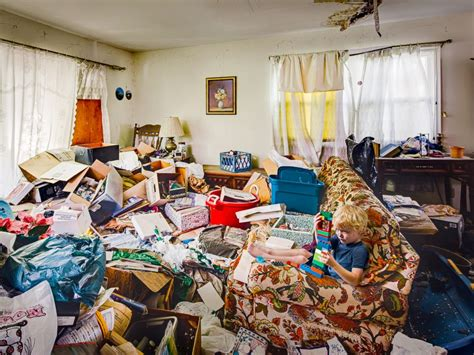 hoarder house siblings relive heartbreaking childhood living in hoarding house