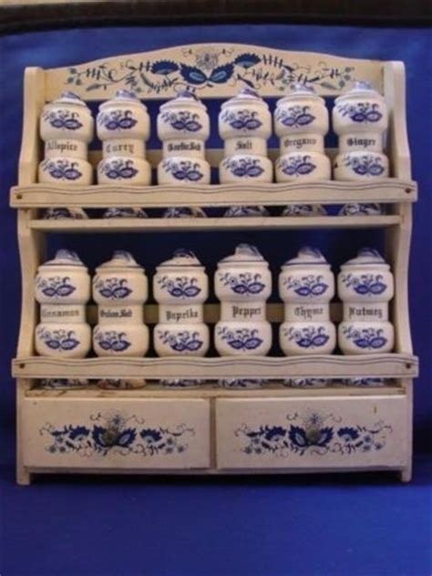 Myer Spice Rack by Vintage Blue Spice Rack