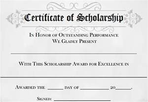 scholarship award template certificate of compliance template eg of resume managment