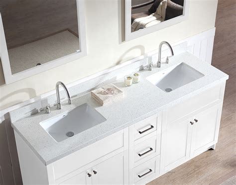 Countertop For Bathroom Vanity 25 Quartz Countertops Bathroom Vanities Eyagci