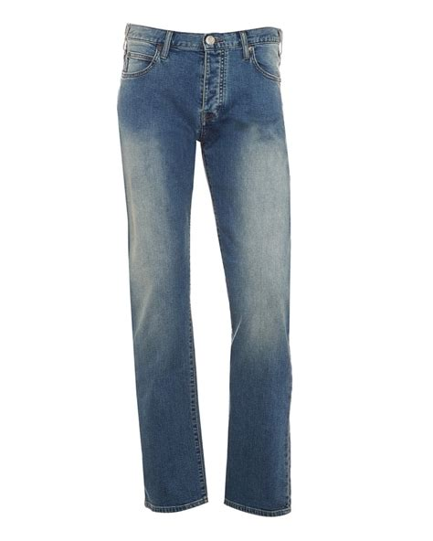 comfortable mens jeans armani jeans j21 mens jeans blue light wash comfort