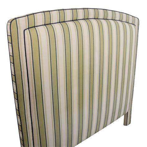 custom fabric headboard 80 custom fabric striped headboard beds