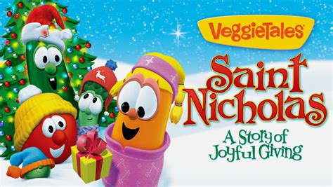 Joyful Giving is veggietales st nicholas a story of joyful giving