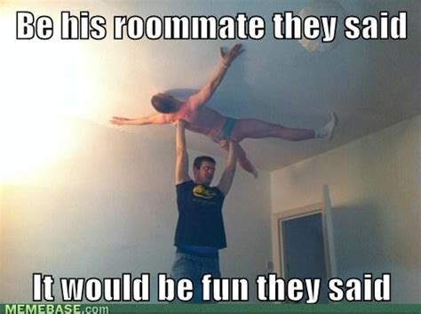 Gay Roommate Meme - i m uncomfortable with where his hand is humor