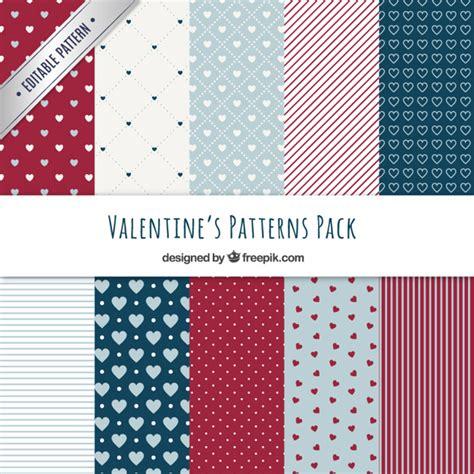 valentine pattern vector beautiful valentine day patterns vector free download