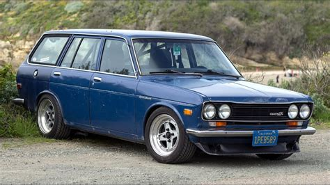 nissan datsun 510 modified datsun 510 wagon one take