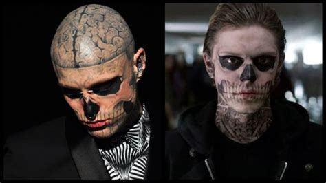 zombie boy tattoo fox s american horror story vs boy spat