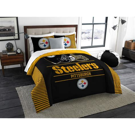 steelers bedding pittsburgh steelers nfl comforter set w shams officially