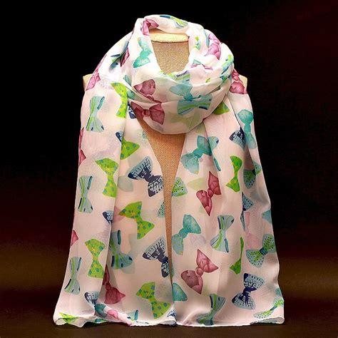 Thin Scarves Flower Pattern Tassel poncho scarf pattern reviews shopping poncho