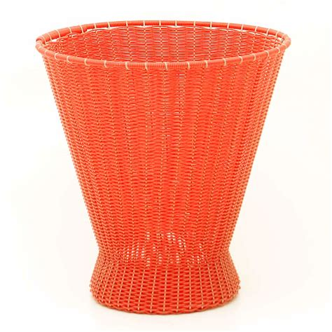 Paper Basket - orange made paper basket milagros