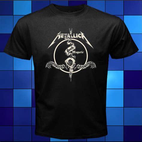 Black Sleep Rock Band T Shirt Size Xl metallica magnetic rock band black t shirt size s m