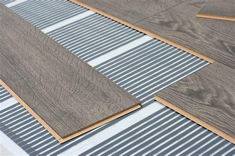 What flooring is suitable for underfloor heating?